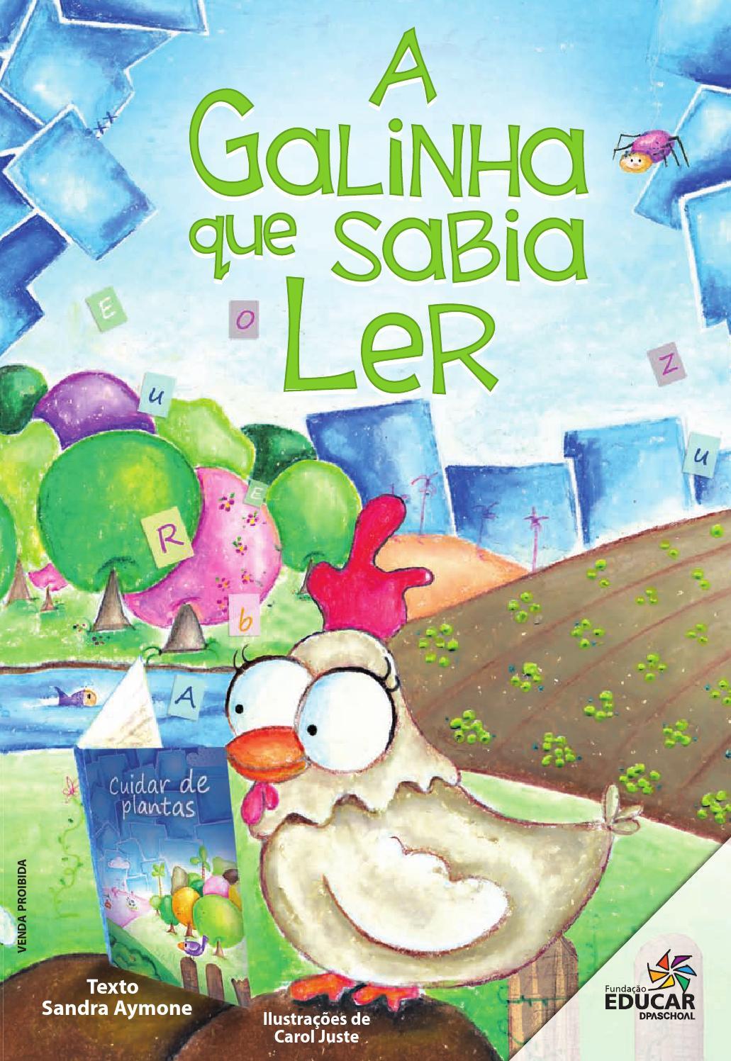 A Galinha Que Sabia Ler by Fundação Educar - issuu
