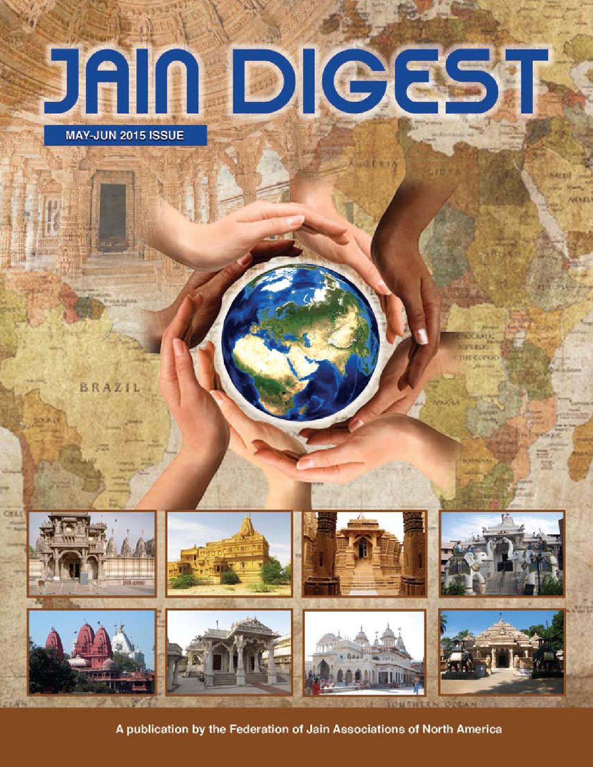 Jain Digest March - April - 2015 by Parth Savla - issuu