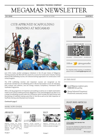 Megamas Newsletter by Wirdy Hamidy - issuu