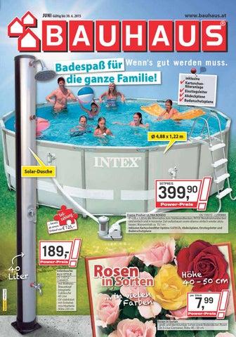 Bauhaus angebote 1 30juni2015 by issuu for Bauhaus intex