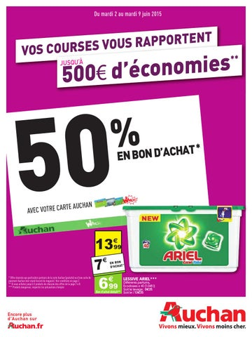 f786bd3e0c1 Auchan catalogue 2 9juin2015 by PromoCatalogues.com - issuu
