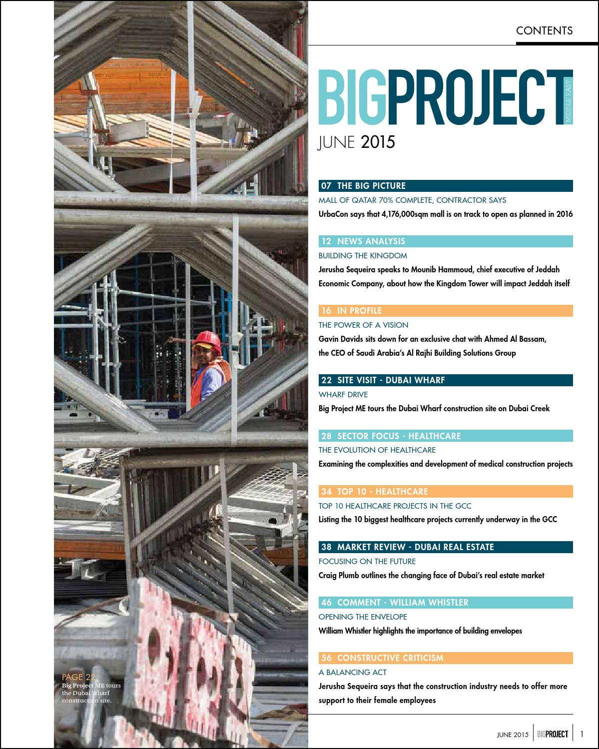 Big Project ME June 2015 by Big Project Middle East - issuu