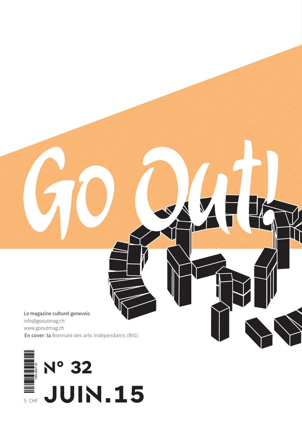 OutMagazine Go issuu Go juin OutN°32 by 2015 RL5Aj4