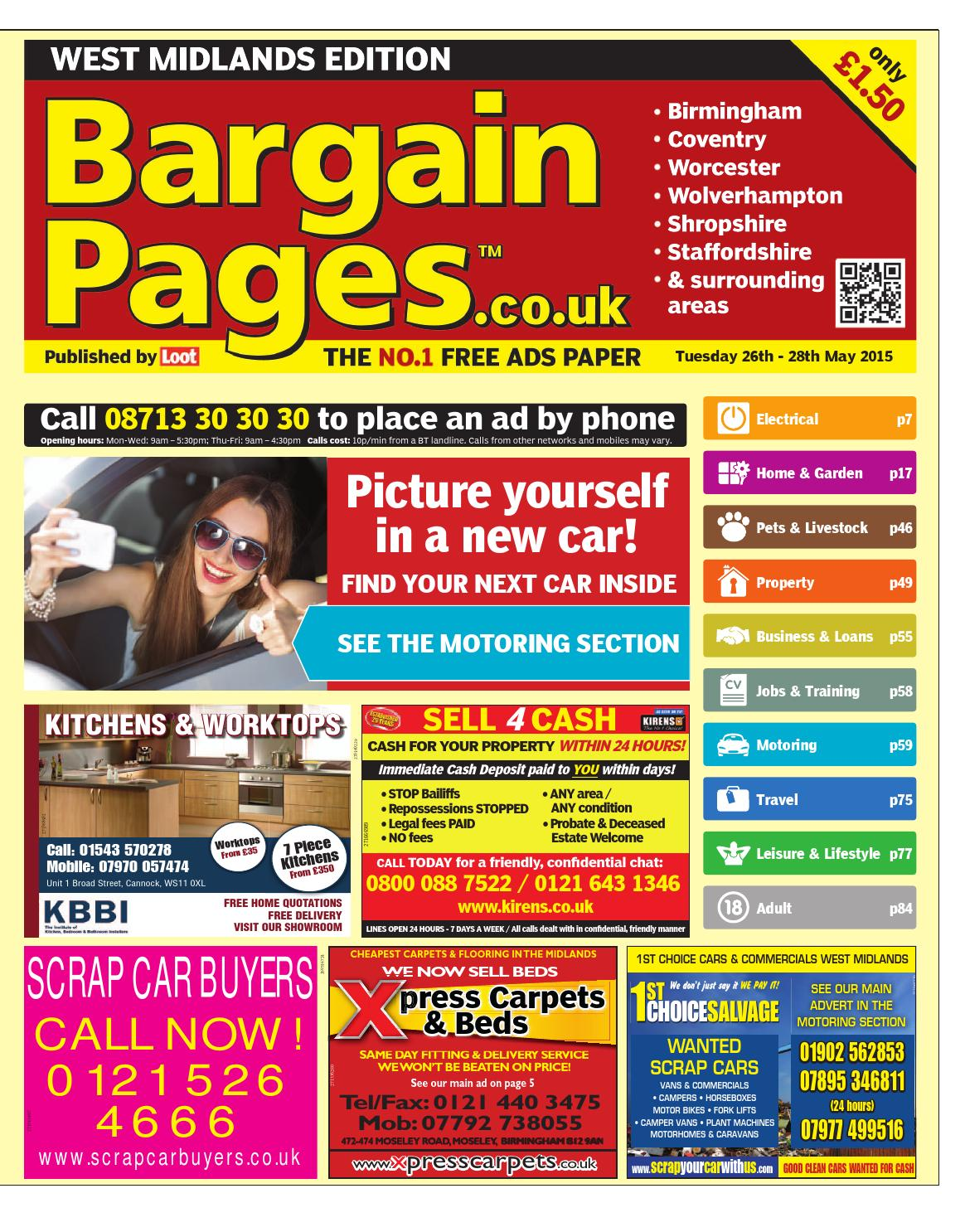 b04f275f130 Bargain Pages West Midlands, May 26th 2015 by Loot - issuu