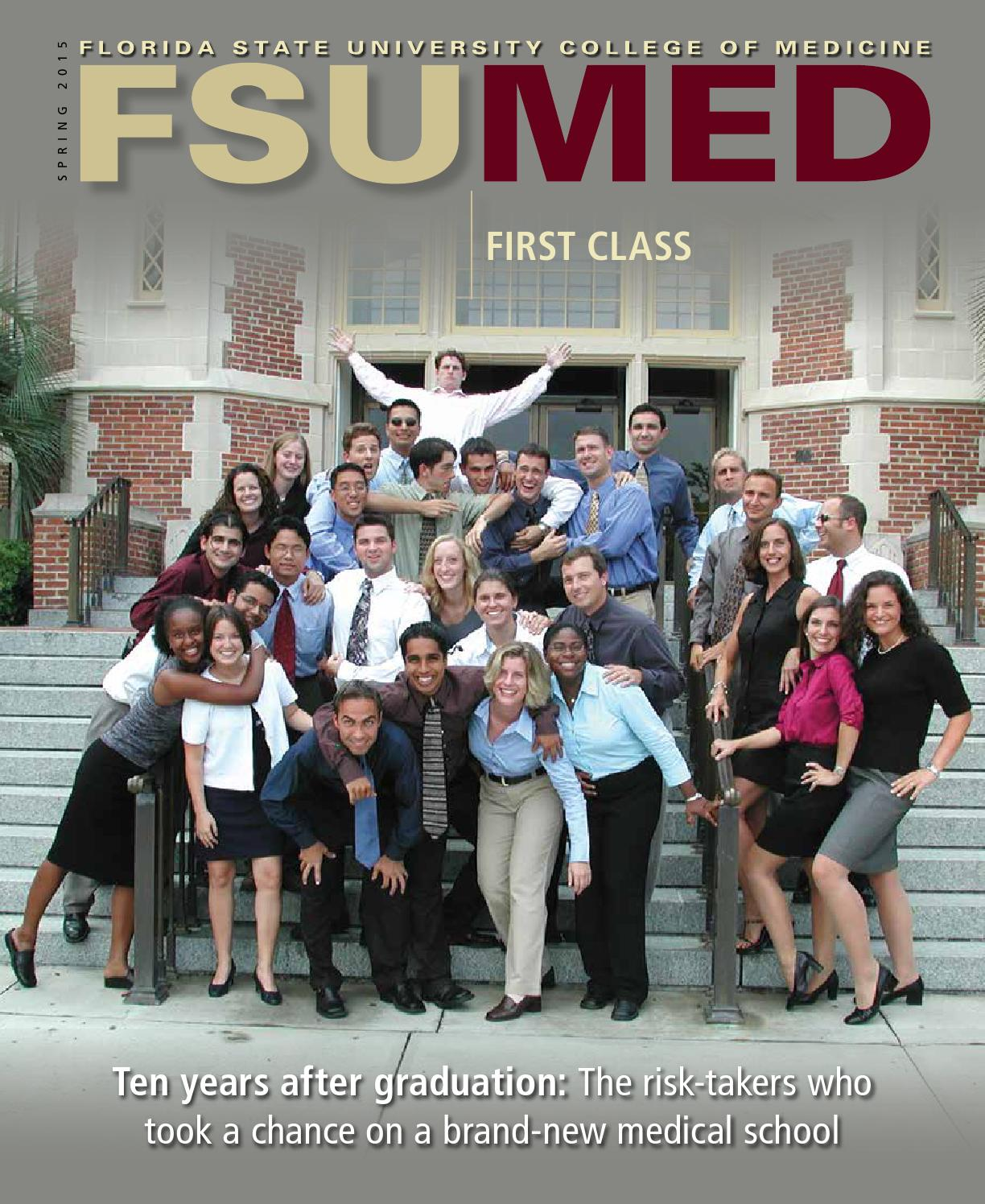 Florida State University College Of Medicine >> Fsu Med Spring 2015 By Fsu College Of Medicine Issuu