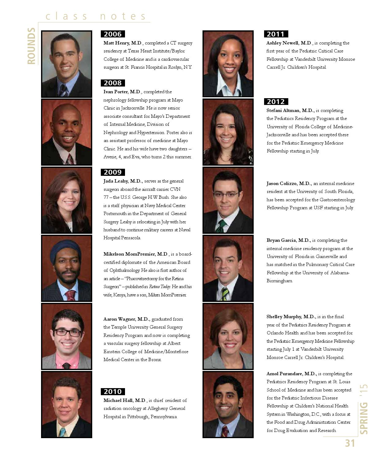 FSU MED spring 2015 by FSU College of Medicine - issuu