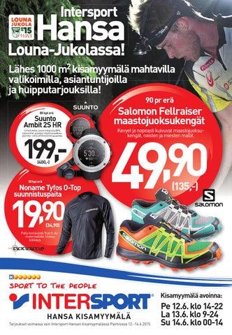 Viheltäen menee 29.3.-2.4. by Intersport Finland - issuu 4e9e5fef13