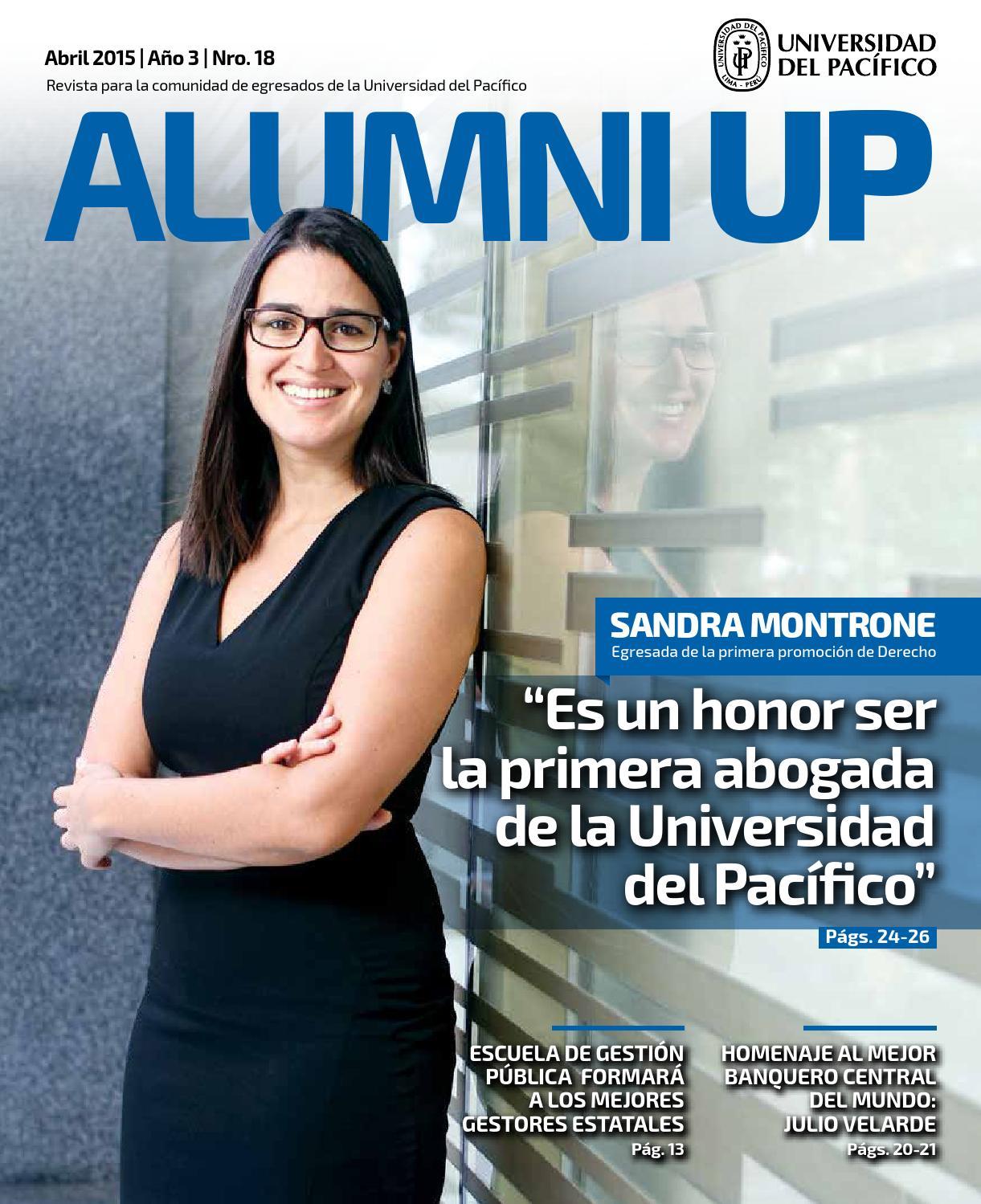 Revista Alumni UP I abril 2015 I Año 4 I Nro.18 by Universidad del ...