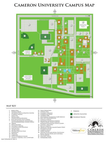 Campus Map Summer 2013 By Taylor Hutton Issuu