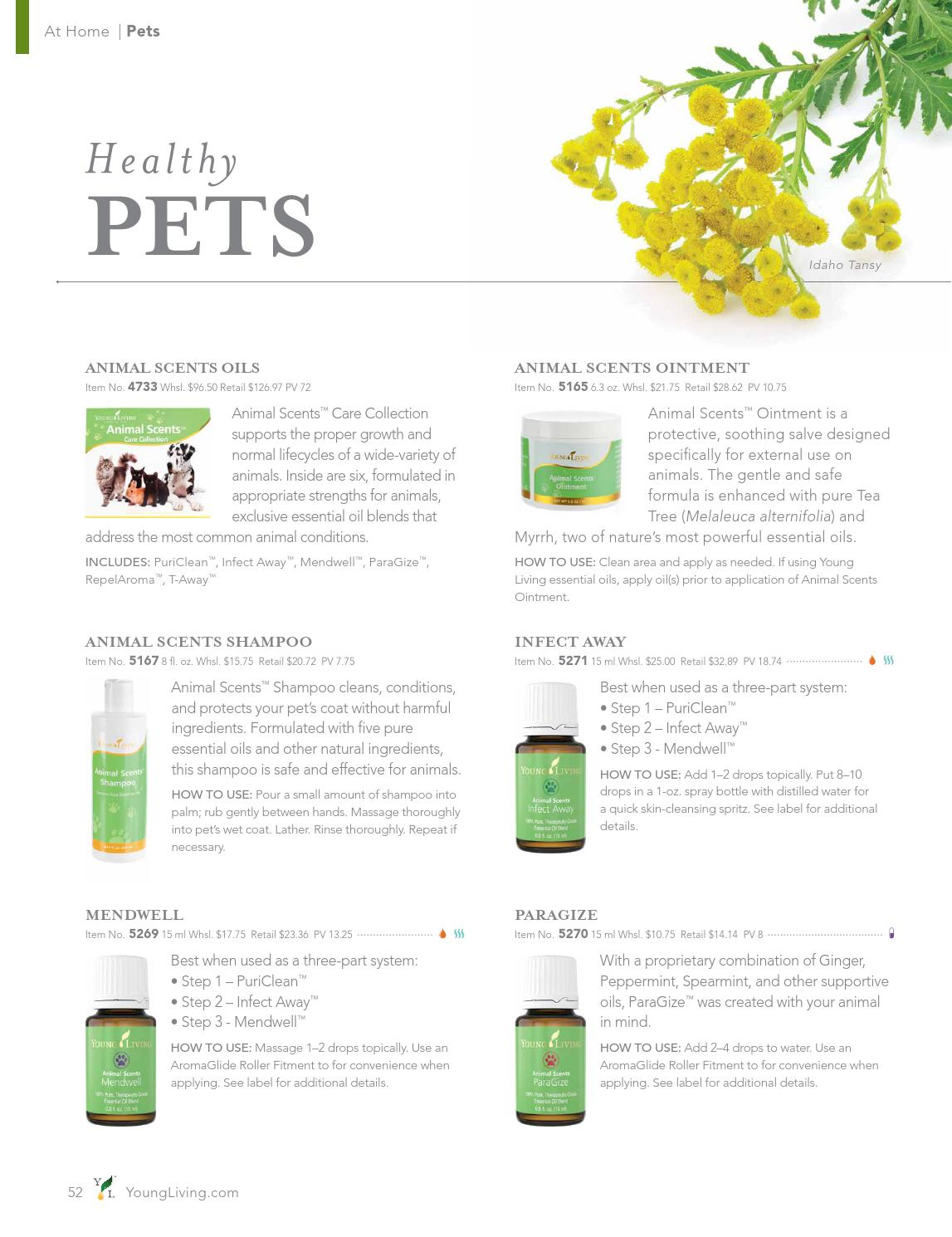Young Living Usa Product Guide By Lavender Stream Young