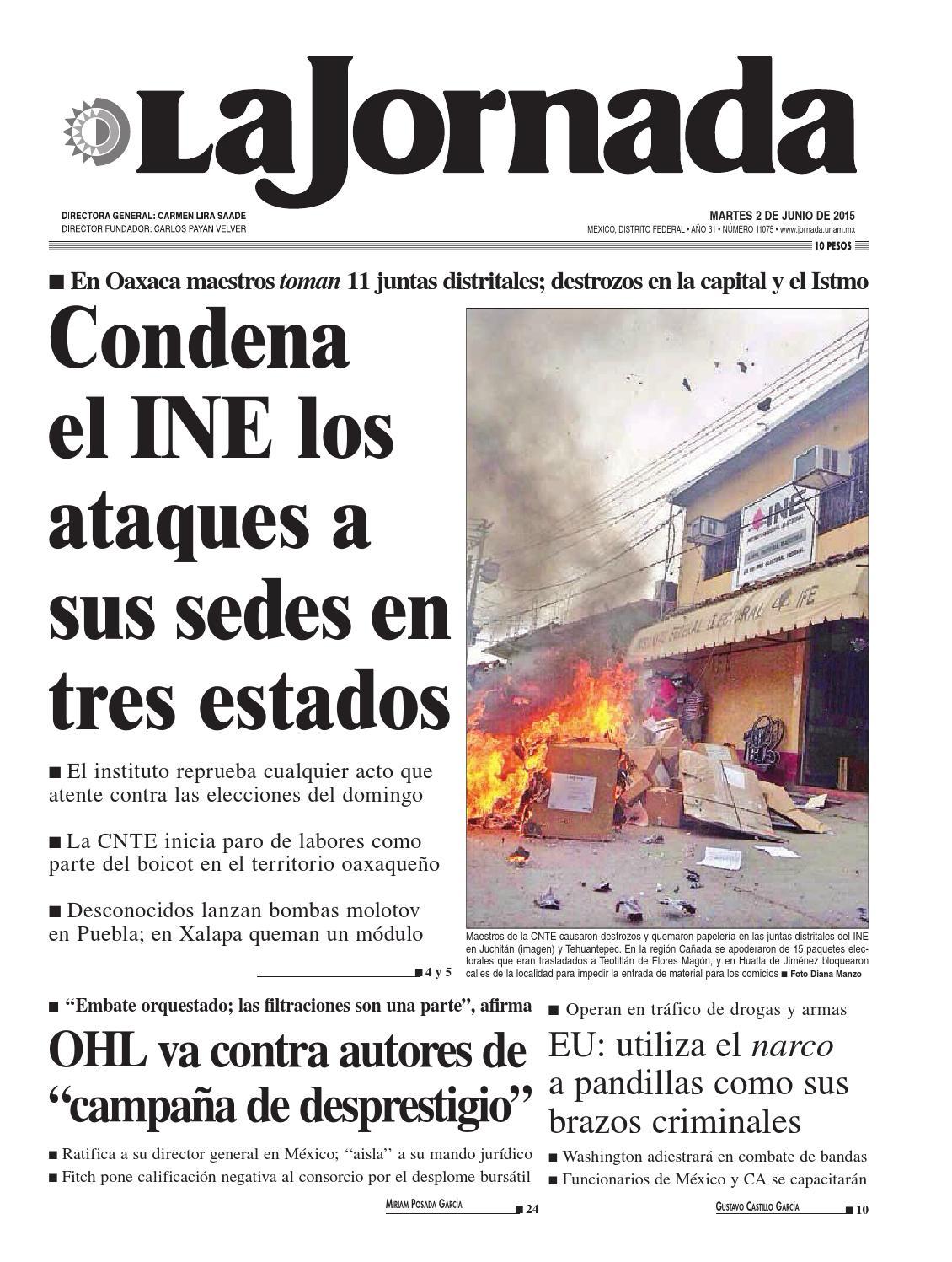 La Jornada, 06/02/2015 by La Jornada: DEMOS Desarrollo de Medios SA ...