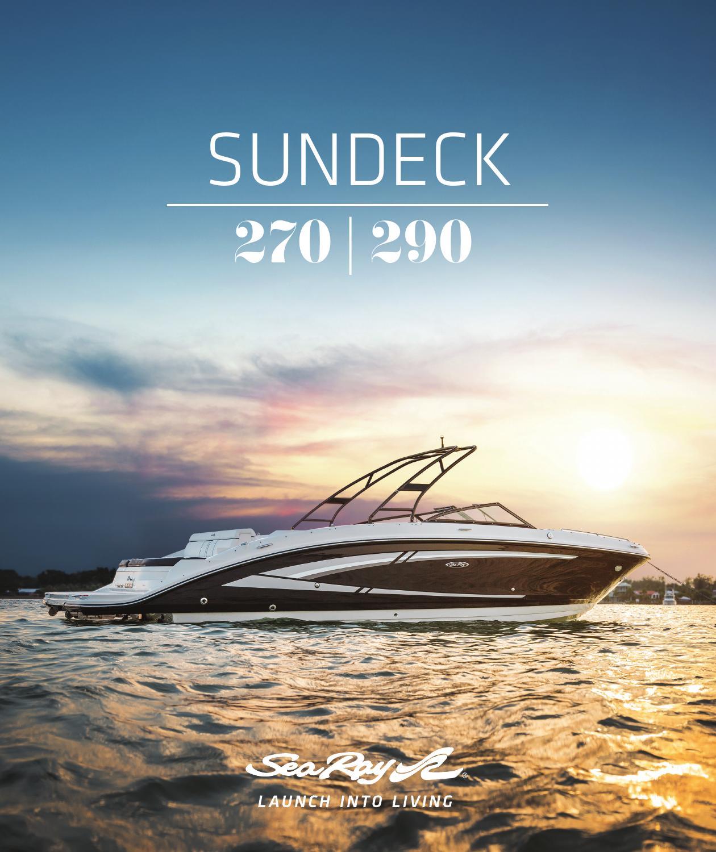 Sea Ray Sundeck by Dino Marketing Group - issuu