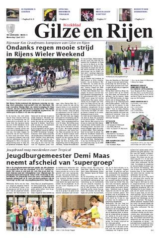 Weekblad Gilze En Rijen 03 06 2015 By Uitgeverij Em De Jong Issuu