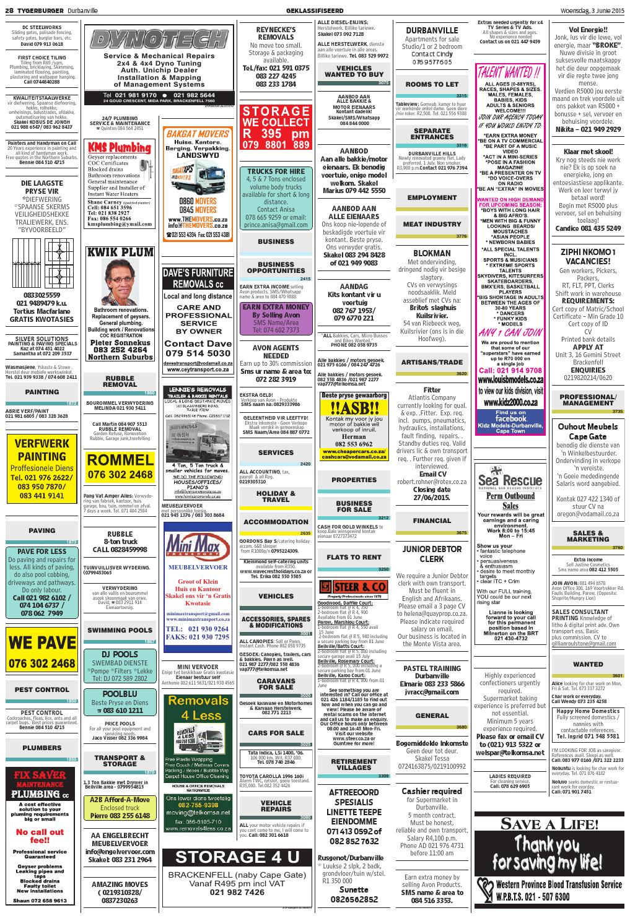 TygerBurger Durbanville 20150603 by Tygerburger Newspaper