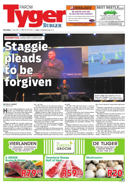 TygerBurger Parow 20150603 by Tygerburger Newspaper - issuu