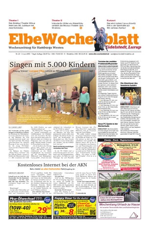 Eidelstedt KW23-2015 by Elbe Wochenblatt Verlagsgesellschaft mbH ...