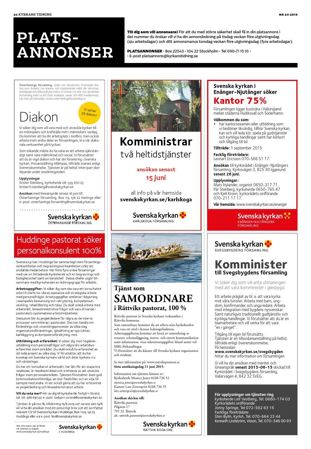 Glad Sommar! - Svenska kyrkan