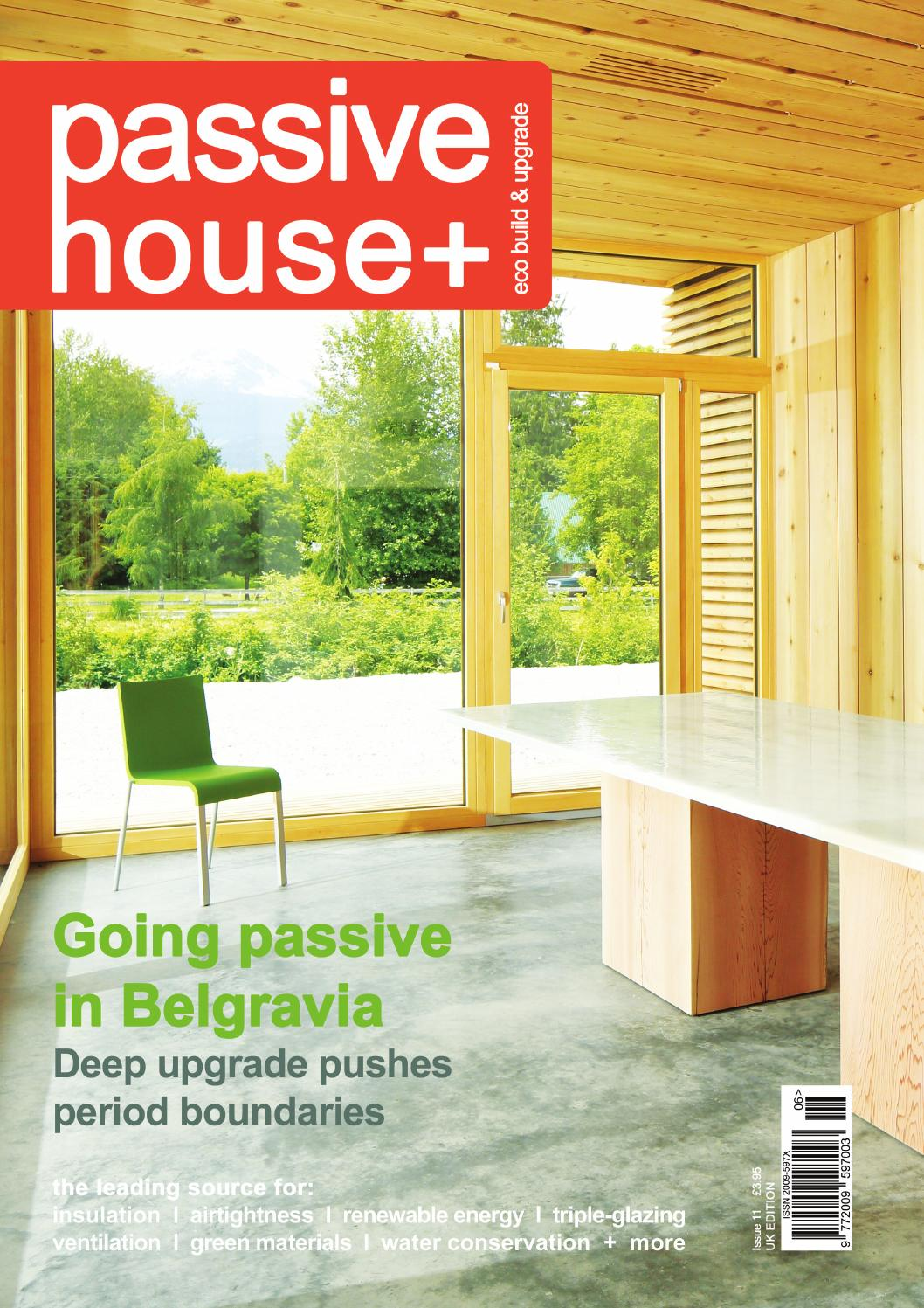 Passive House Plus Issue 11 Uk Edition By Issuu Electrical Wiring Junction Further Ceiling Rose Flex Fifth