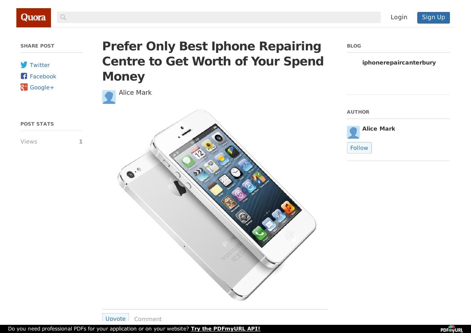 what to do if your iphone gets wet prefer only best iphone repairing centre to get worth of 21230