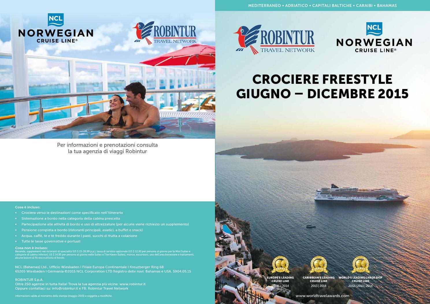 Crociere Freestyle by Eventi Progetti Speciali - issuu