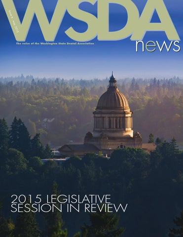 WSDA News Issue 6 May 2015 by Washington State Dental