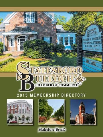 Chamber of Commerce Direcotry 2015 by Statesboro Herald - issuu