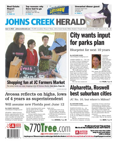 Johns creek herald june 4 2015 by appen media group issuu page 1 malvernweather Choice Image
