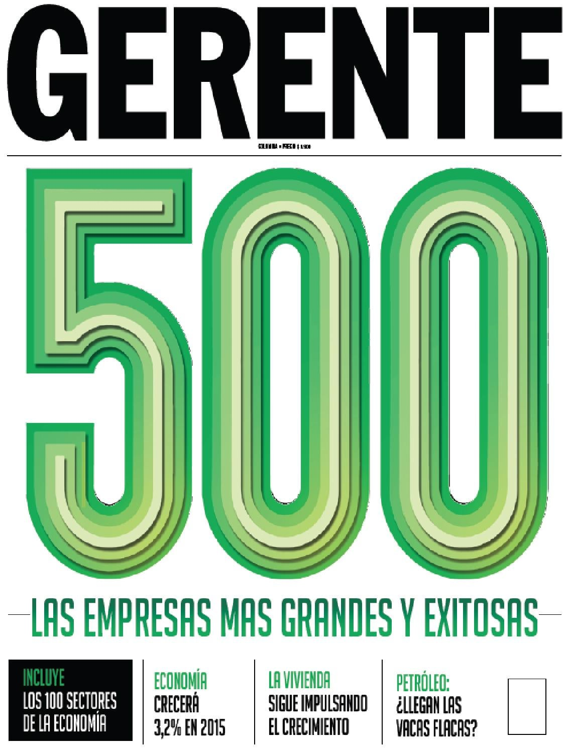 Revista Gerente Colombia 203 by Zulay Rodríguez - issuu