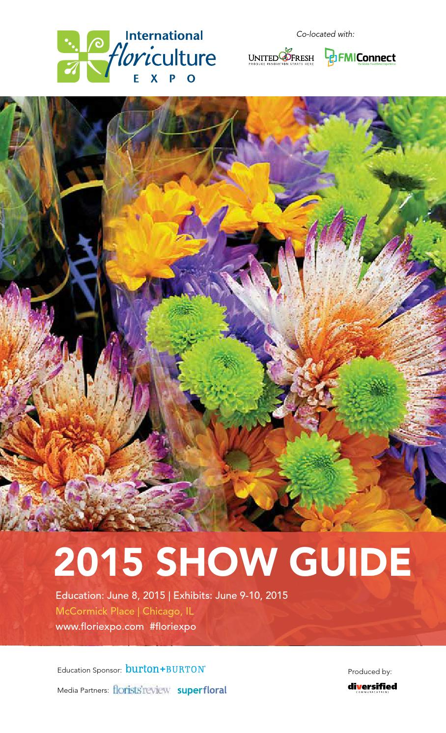 international floriculture expo 2015 show guide by diversified