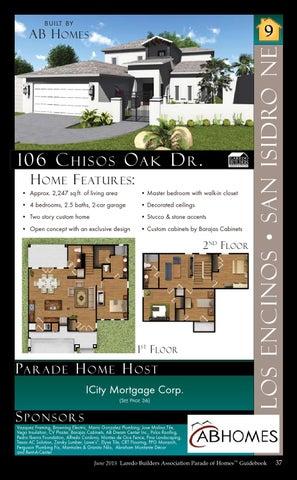 2015 Parade Of Homes Laredo Texas By Parade Of Homes