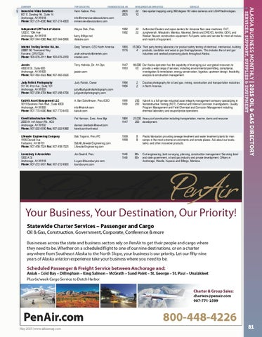 Alaska Business Monthly-May 2015 by Alaska Business - issuu