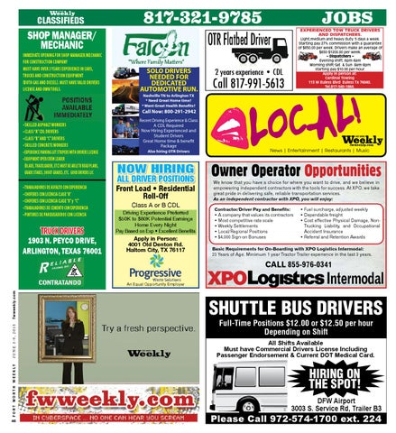 Classifieds by Fort Worth Weekly - issuu