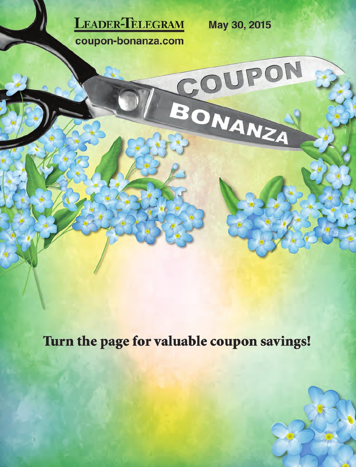 coupon bonanza may 30 2015 eau claire wi by leader telegram issuu