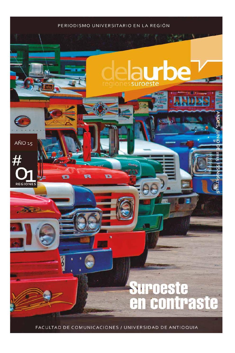 De La Urbe Suroeste 01 by De la Urbe - issuu