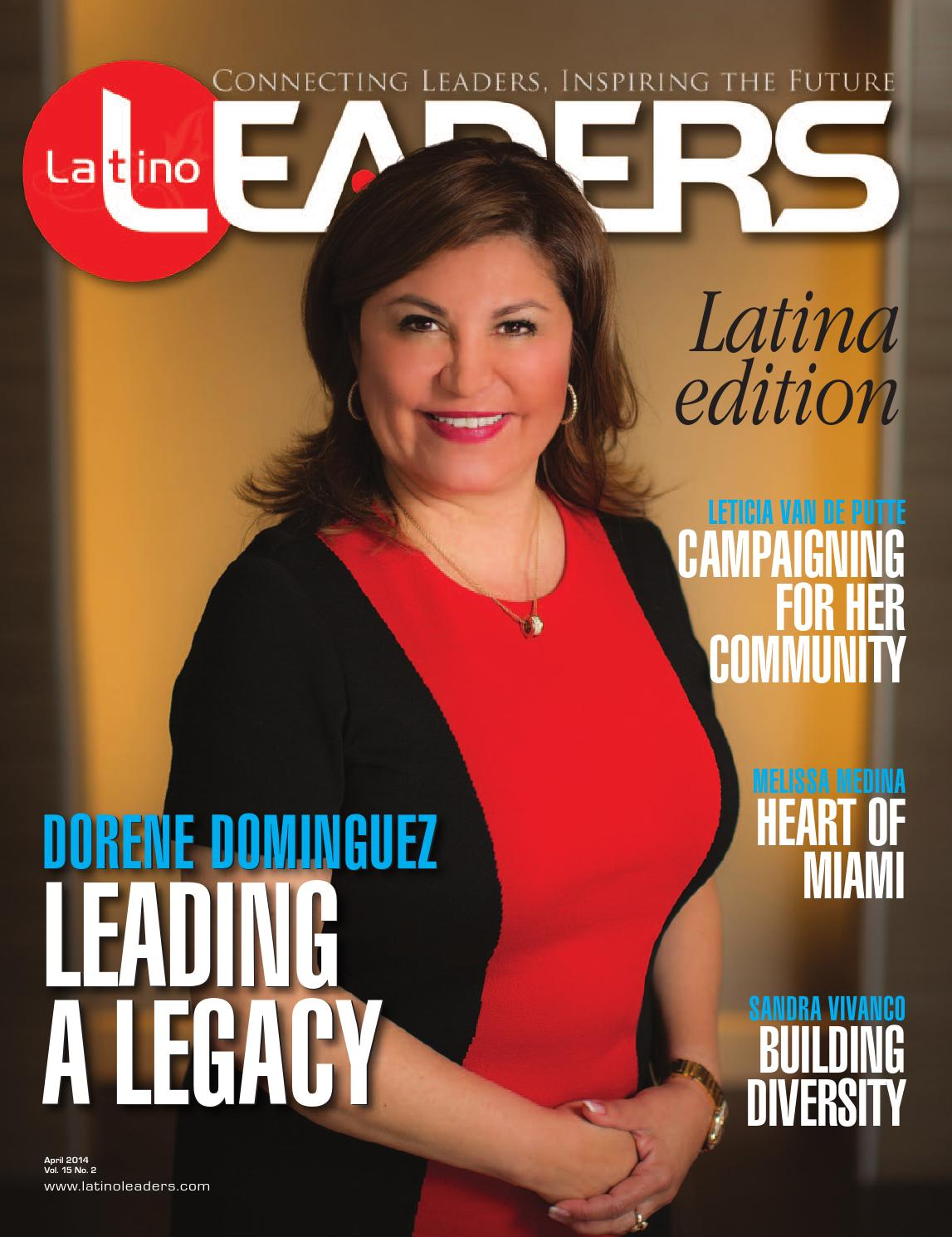 Hola directory of talent claudia morales - Latino Leaders Magazine April 2014