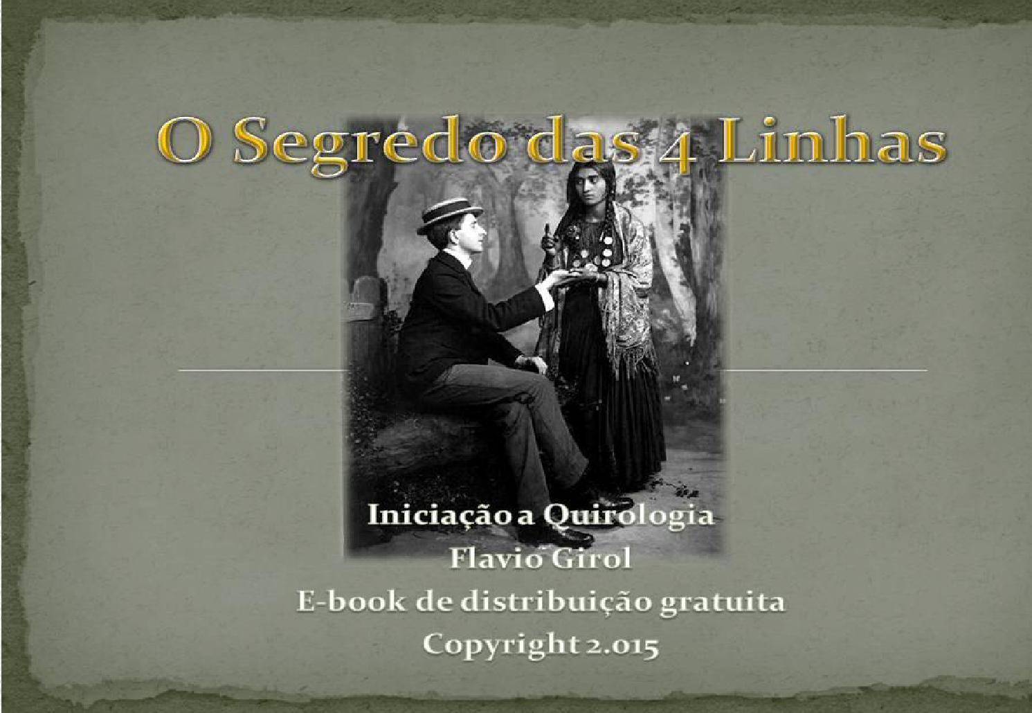 E book o segredo das 4 linhas by flavio girol issuu fandeluxe Images