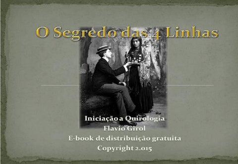 E book o segredo das 4 linhas by flavio girol issuu page 1 fandeluxe Gallery