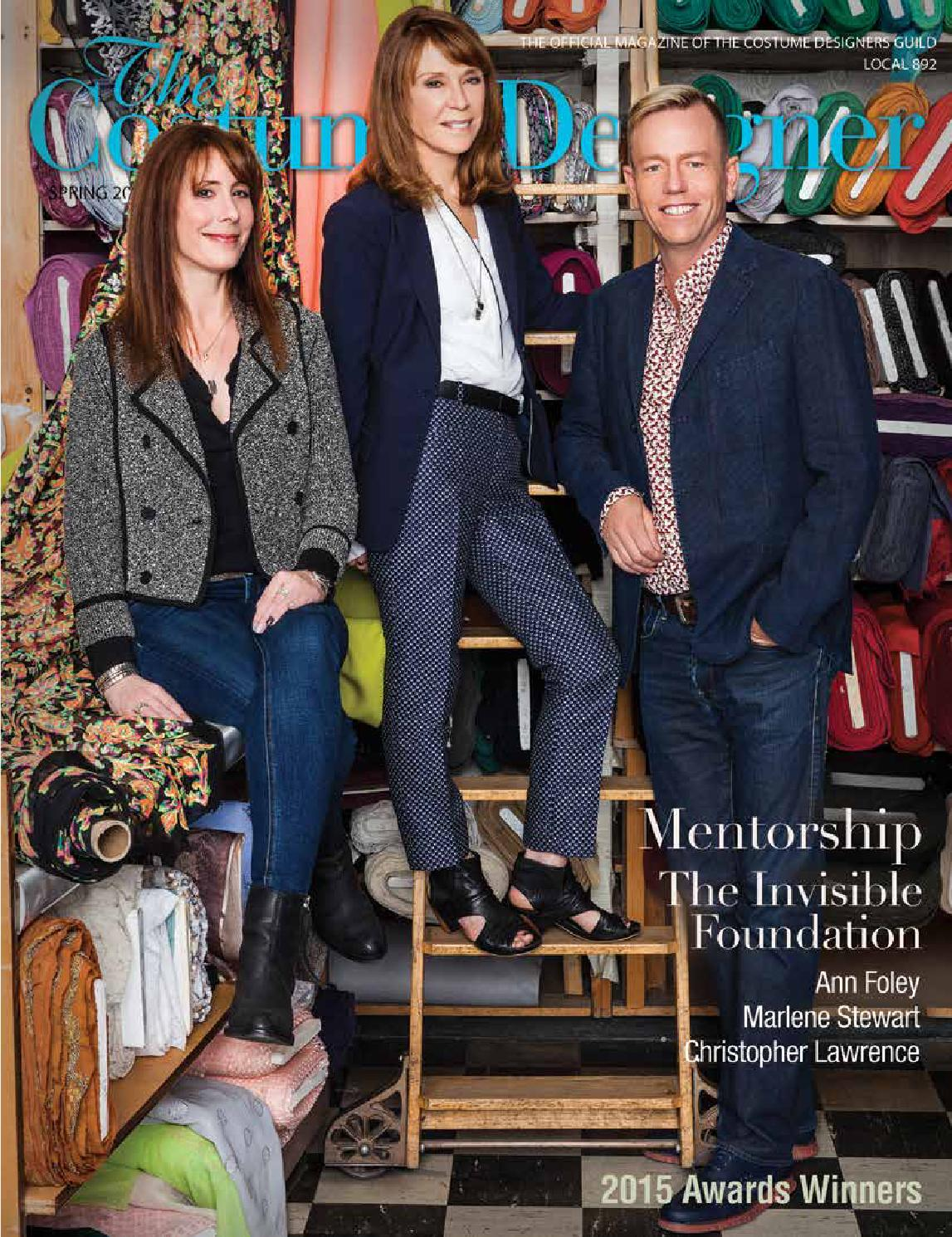 The Costume Designer   Spring 2015 By Costume Designers Guild   Issuu
