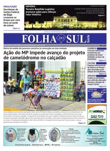70015ef98 Jornal Folha do Sul, 4 de junho de 2015 by Folha do Sul Gaúcho - issuu