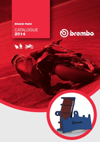 BREMBO P 50 129 Bremsbel/äge Set of 4