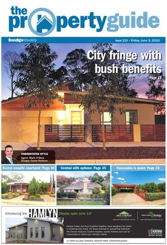 bendigo weekly property guide issue 219 fri june 5 2015 by rh issuu com
