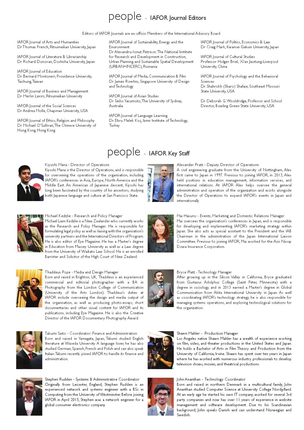 ACSS ACSEE 2015 Official Conference Programme by IAFOR - issuu