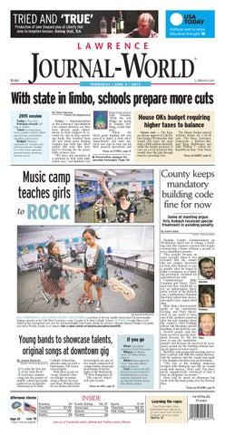 Lawrence Journal-World 060415 by Lawrence Journal-World - issuu 47a32e4e1