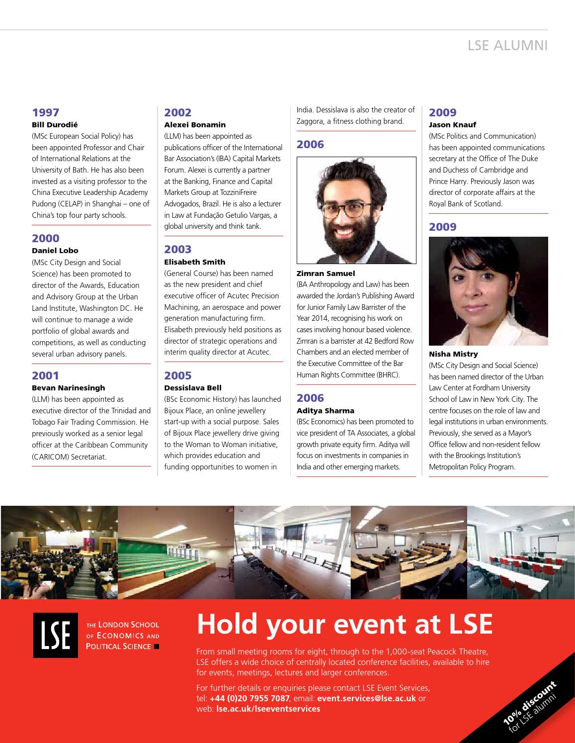 LSE Connect summer 2015 by London School of Economics - issuu