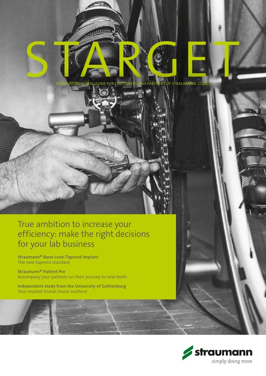 Starget 01 2015 (English) by Institut Straumann AG - issuu