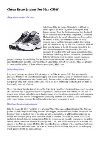 ff4504c7e6da Cheap Retro Jordans For Men C59W cheap jordan sneakers for men. Sole Shots  Nike  Air ...