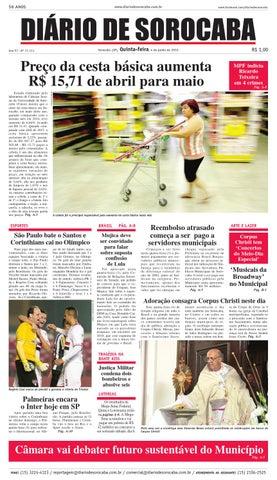 Edição de 04 de maio de 2015 by DIÁRIO DE SOROCABA - issuu aae9d086434c5