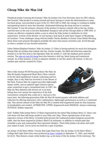 new product b4e29 2ad18 ... greece cheap nike air max ltd flashback jordan carrying thecarmine nike  air jordan 6 for your