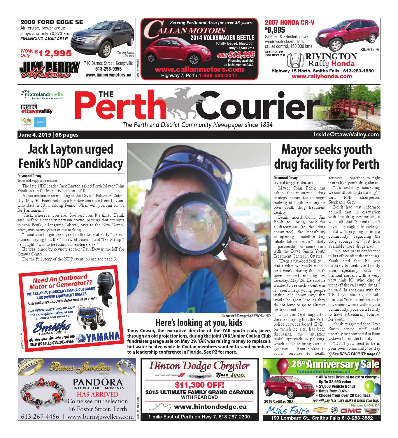 Perth060415 by metroland east the perth courier issuu fandeluxe Images