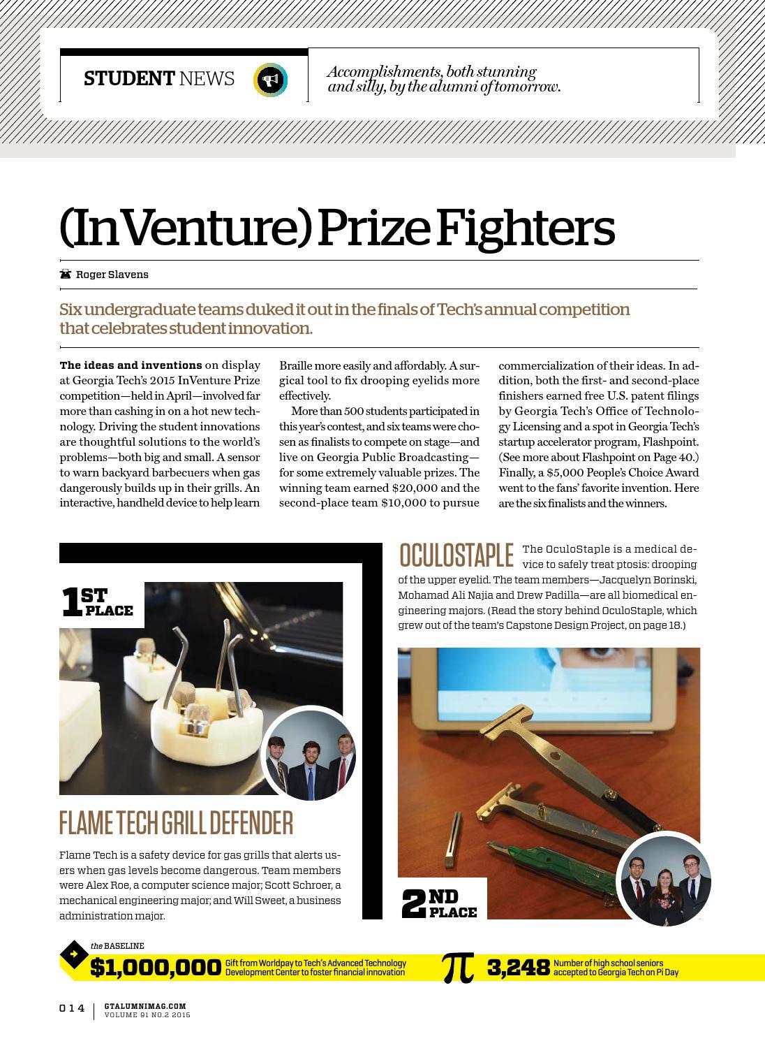 Georgia Tech Alumni Magazine, Vol  91, No  2 2015 by Georgia